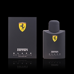 FERRARI BLACK eau de toilette Spray 125 ml